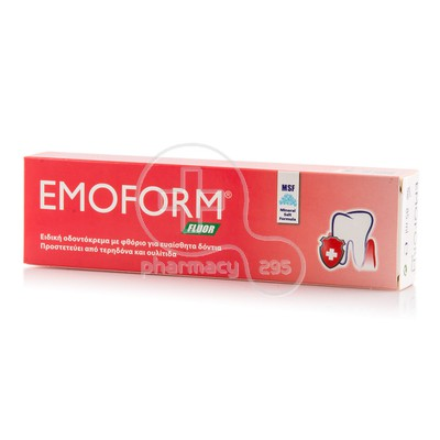 EMOFORM - Emoform Fluor Swiss Formula - 85ml