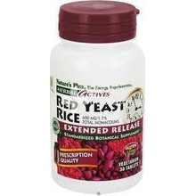 Nature's Plus, Red Yeast Rice 600 mg, Μαγιά Κόκκινου Ρυζιού - 30 tabs