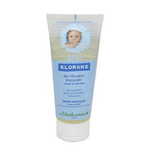 Klorane gel douceur moussant corps  200ml