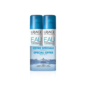 URIAGE Eau thermale Ιαματικό νερό 2x300ml PROMO PA