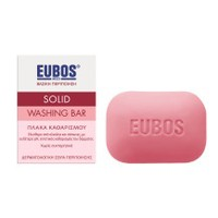 EUBOS SOLID WASHING BAR RED 125GR
