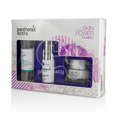 PANTHENOL EXTRA - PROMO PACK SKIN POWER Micellar True Cleanser 3in1 - 100ml, Face & Eye Serum - 30ml & Night Cream - 50ml