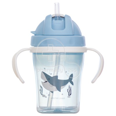STEPHEN JOSEPH - Straw Cup 6m+ (Shark) - 150ml
