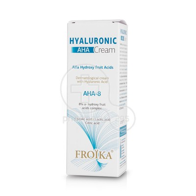 FROIKA - HYALURONIC AHA-8 Cream - 50ml