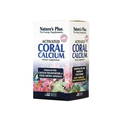 Nature's Plus Coral Calcium (Activated) 90 Κάψουλες