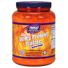 Now Sports WHEY PROTEIN Isolate VANILLA, 1.8 lb (816gr)