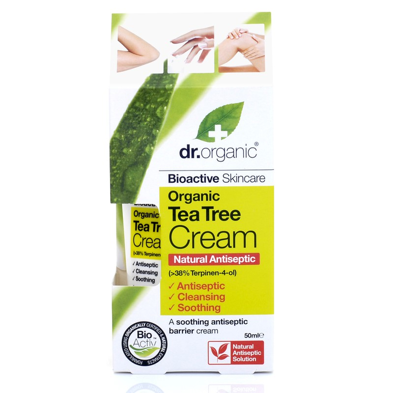 Organic Tea Tree Cream (Antiseptic ) 50ml