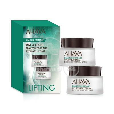 AHAVA - BEAUTY BEFORE AGE Limited Edition Day & Night Ultimate Lifting - 2x15ml
