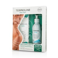 SYNCHROLINE - PROMO PACK TERPROLINE Body Cream (125ml) ΜΕ ΔΩΡΟ CLEANCARE Intimo (200ml)