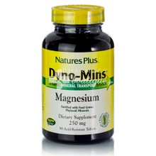 Natures Plus Dyno-Mins MAGNESIUM 250mg - Μαγνήσιο, 90 tabs