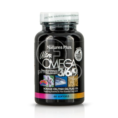 NATURE'S PLUS - ULTRA Omega 3/6/9 1200mg - 60softgels