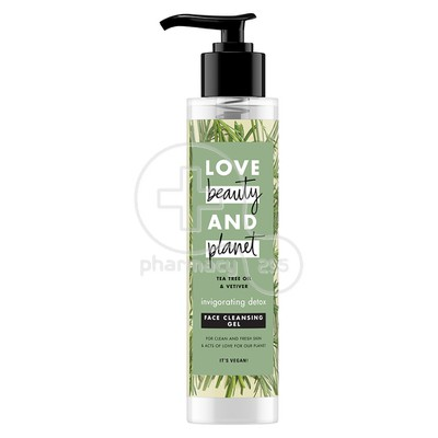 LOVE BEAUTY AND PLANET - Face Cleansing Gel - Tea Tree Oil and Vetiver - 125ml