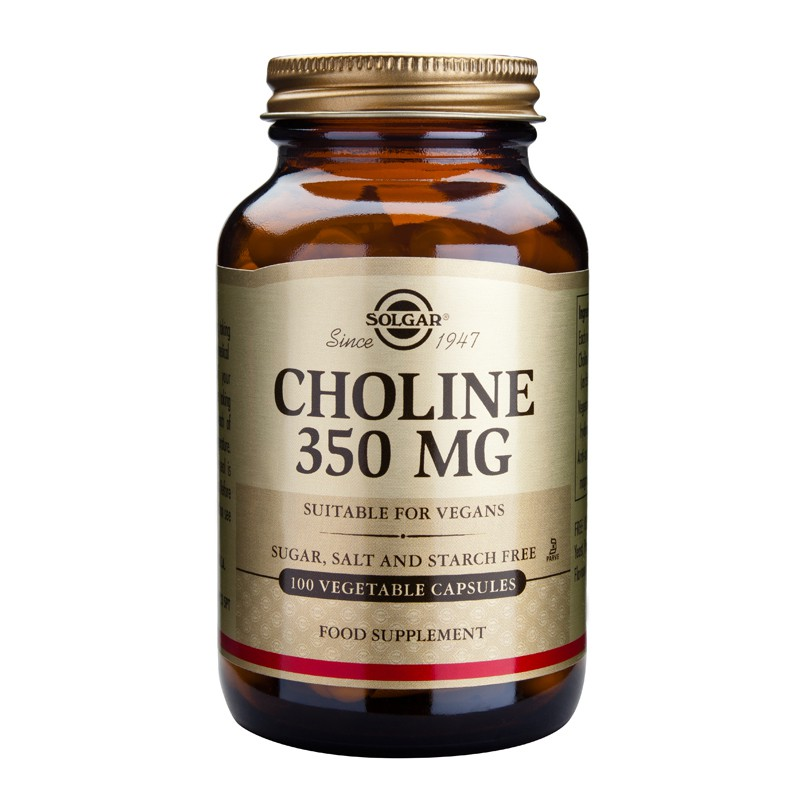 Choline 350mg veg.caps