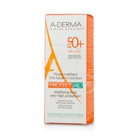 A-DERMA - PROTECT AC Fluide Matifiant tres Haute Protection SPF50+ 40ml