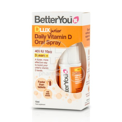 BETTER YOU - DLUX Junior Oral Spray - 15ml