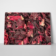 Dry leaves of tea hibiscus 778365145 a