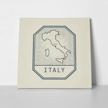 Stamp name map italy 307550411 a