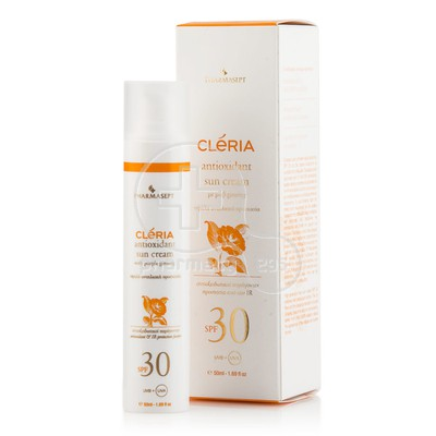 PHARMASEPT - CLERIA Antioxidant Sun Cream SPF30 - 50ml