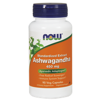 NOW ASHWAGANDHA EXTRACT 450 MG, 90 VEG. CAPS