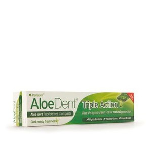 Aloe dent triple action toothpaste 100ml enlarge