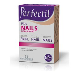 Vitabiotics Perfectil Plus Nails Extra Support, Υγιή Μαλλιά, Δέρμα & Νύχια 60 tabs
