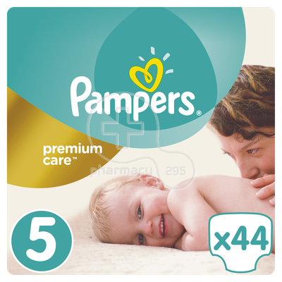 PAMPERS - PREMIUM CARE No5 (11-18kg) - 44 πάνες