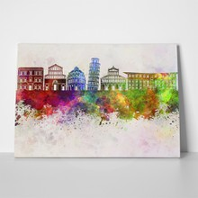 Pisa watercolor 259295012 a