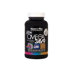 Nature's Plus Ultra Omega 3/6/9 90  softgels