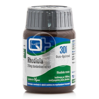 QUEST RHODIOLA 250mg Extract 30tabs