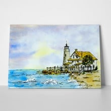 Watercolor lighthouse 2 495591865 a