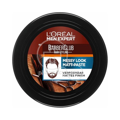 L'OREAL PARIS - MEN EXPERT BARBER CLUB Messy Look Matt-Paste - 75ml