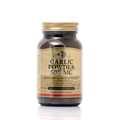 SOLGAR - Garlic Powder 500mg - 90caps