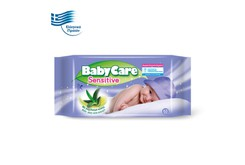 BABYCARE - BabyCare Sensitive Μωρομάντηλα - 63τεμ.