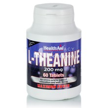 Health Aid L-THEANINE 200mg - Άγχος, 60tabs