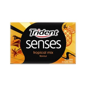 TRIDENT ΤΣΙΚΛΕΣ SENSES TROPICAL MIX