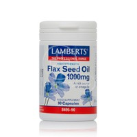 LAMBERTS - Flax Seed Oil 1000mg - 90caps