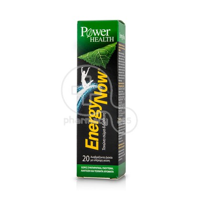POWER HEALTH - ENERGY NOW Body & Mood Booster - 20eff.tabs