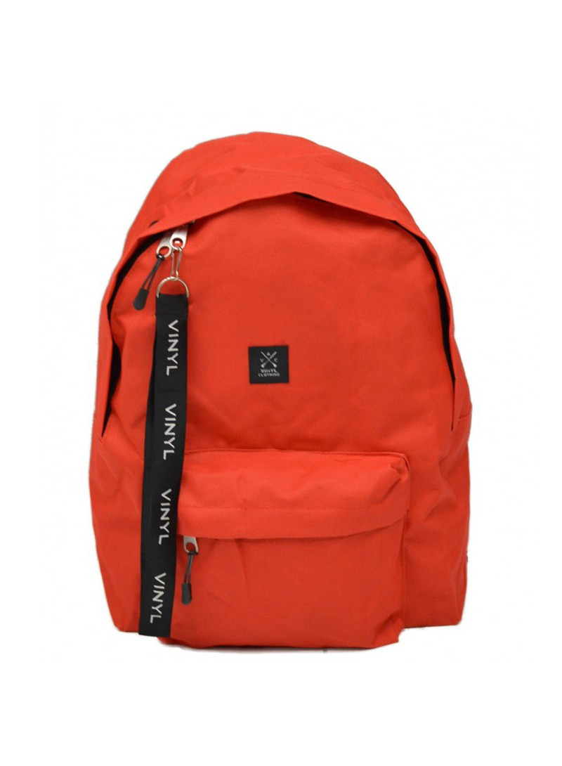 VINYL ART CLOTHING RED BACKPACK