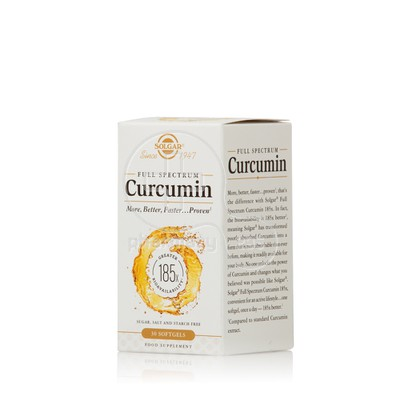 SOLGAR - FULL SPECTRUM Curcumin - 30softgels