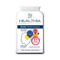 HEALTHIA BRAIN PERFORMANCE 90CAPS