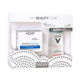 Vichy Promo Liftactiv Supreme για Ξηρή Επιδερμίδα 50ml & Δώρο Mineral Micellar Water for Sensitive Skin 100ml