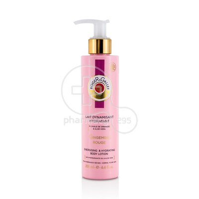 ROGER & GALLET - GINGEMBRE ROUGE Lait Dynamisant Hydratant - 200ml