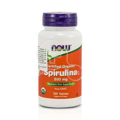 NOW - Spirulina 500mg - 100tabs