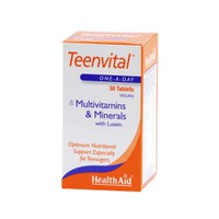 HEALTH AID TEENVITAL MULTIVITAMINS&MINERALS 30TABL