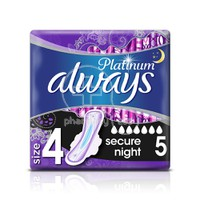 ALWAYS - PLATINUM Ultra Night Size 4 - 5τεμ