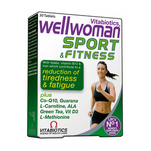 VITABIOTICS Wellwoman sport & fitness 30tablets