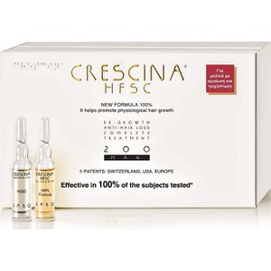 Crescina hfsc 100  200 complete treatment man