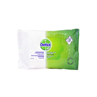 DETTOL ANTIBACTERIAL HAND WIPES 15ΤΕΜ