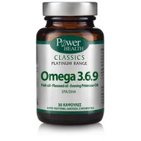 POWER HEALTH CLASSICS PLATINUM OMEGA 3,6,9 30CAPS