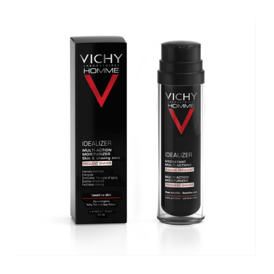 VICHY - HOMME IDEALIZER Hydratant Multi Actions Rasage Frequent - 50ml